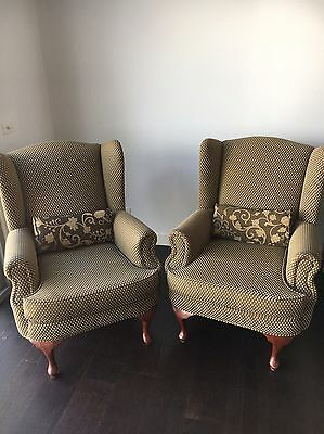 Wingback Armchair | x2 | $350 Each | Pick Up Only
