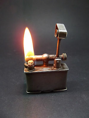 Lovely vintage Silver plated Parker beacon petrol lighter
