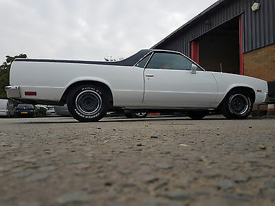Chevrolet El Camino White 3 month Ago  Resprayed Uk Registered