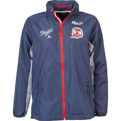 NRL Sydney Roosters Rugby League Wet Weather Jacket 2016