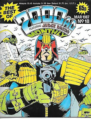 Best of 2000 AD Monthly #18 (1987) Alan Moore's DR & Quinch Get Drafted + Dredd