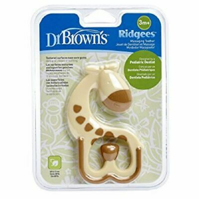 Dr Brown's Options Giraffe Massage Teether 1 2 3 6 Packs