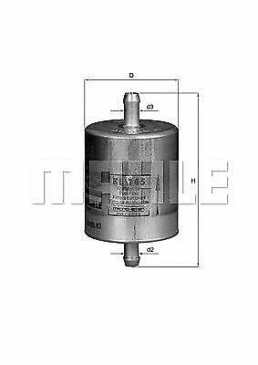 Kl145  Mahle Benzinfilter  Bmw  R1100Rt / R1100S / R1150Gs / C1