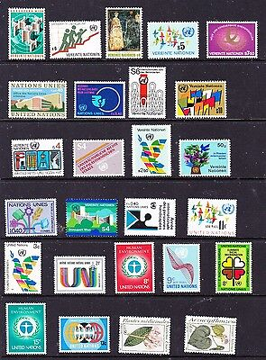 United Nations stamps - 26 MUH & MH