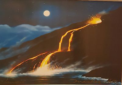 Marshall White Matted print - Find Hawaii