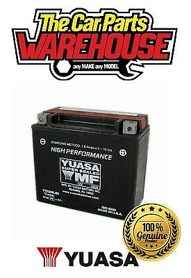 YTX20HL-BS Genuine Yuasa Motorcycle ATV Quad Buggy Battery xX With Acid Pack Xx