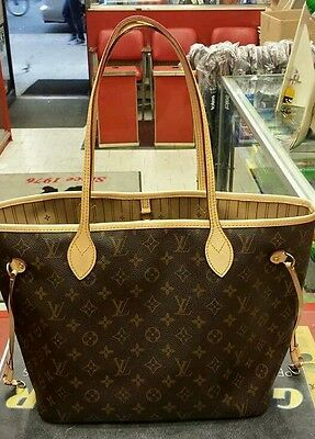 LOUIS VUITTON Neverfull MM Repair Service Replacement Of All Leather Trimmings