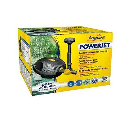 Laguna PowerJet 960 Fountain/Waterfall Pump Kit for Ponds Up to 2000-Gallon