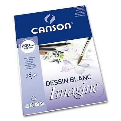 Imagine Mix Media, 200g/m², A2 Canson 200006003, 50 Blatt