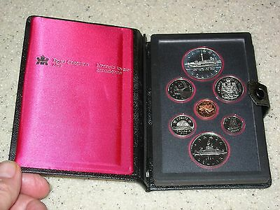 1984 Canada Double Dollar Proof Set In Case
