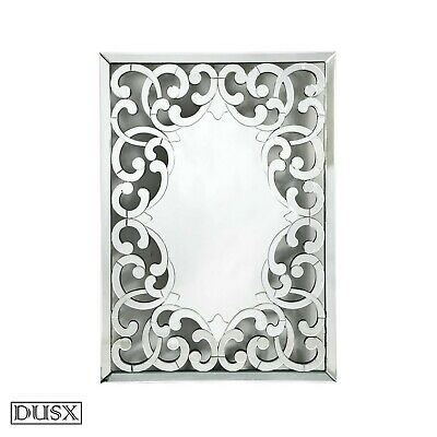 DUSX Contemporary Venetian Fretted Rocaille Mirror