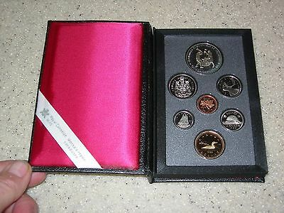 1988 Canada Double Dollar Proof Set In Case