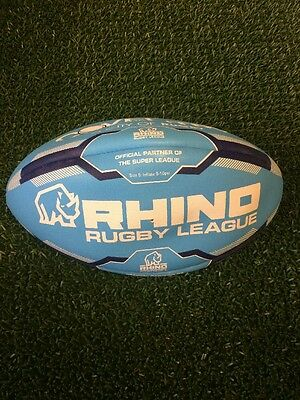 Rhino Rugby League Ball Size 5 Coventry Bears New
