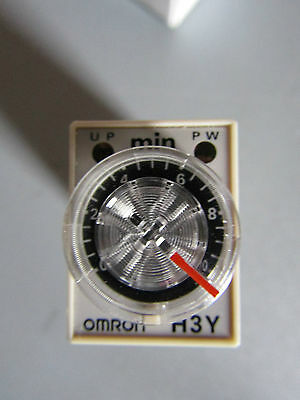 Omron Miniature - H3Y4 - Single Time Delay Relay - 4PDT - 340588
