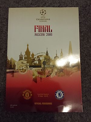 Manchester United v Chelsea - 2008 Champions League Final in Moscow Programme