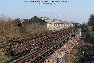 Colour Photo of Network Rail Carriage Shed at West Worthing 2007