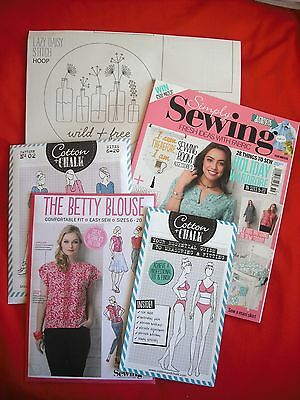 Simply Sewing Magazine Issue 19 with Patterns and Measuring & Fitting Guide