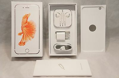 * iPhone 6s Plus Empty Retail Box Full Accessories Rose Gold