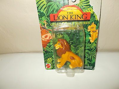 NEW The Lion King Adult Simba Collectible Mattel Disney Arcotoy PVC Figure 66381