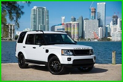 2016 Land Rover LR4  2016 Used 3L V6 24V Automatic 4WD SUV Premium Moonroof