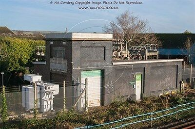 Colour Photo of Network Rail Substation at West Worthing 2016