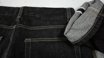 Rare Gucci Denim Jeans Pant Selvedge Black Made In Italy Size 30 Cotton