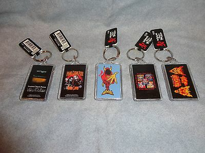 Insane Clown Posse Icp Wicked Clown Keychain Set Of 5
