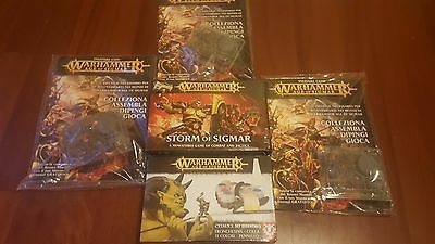 Lotto warhammer Age of sigmar mini starter + paint kit essential + sotrmcast