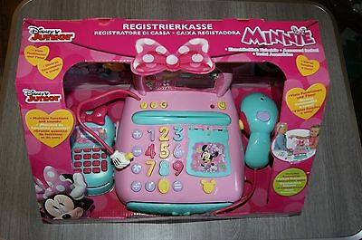 Minnie Mouse Cash Register Brand New Electronic Functions With Calculator Age 3+