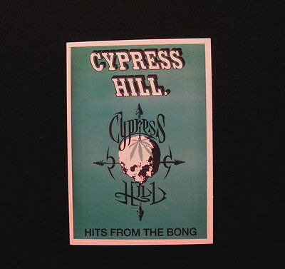 """Cypress Hill Vintage Postcard Uk Import   """"hits From The Bong"""""""
