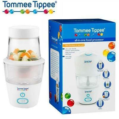 NEW - Tommee Tippee all-in-one Food Processor with carry bag - bargain price