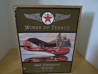 1940 Grumman Goose Wings Of Texaco Metal Bank Made in 1996 By ERTL