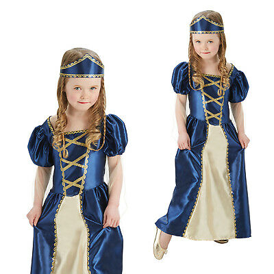 Rubies Girls Renaissance Princess World Book Week Fancy Dress Costume Outfit