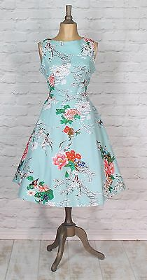 New Womens Party Cocktail Swing 50s Vintage Style Rockabilly Classy UK 10-20