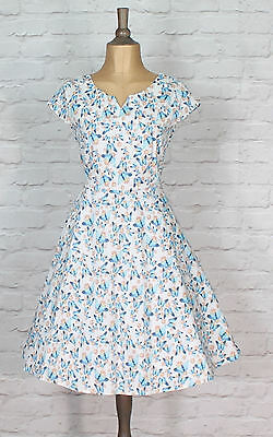 New Womens Party Cocktail Swing 50s Vintage Style Rockabilly Classy UK 12-20