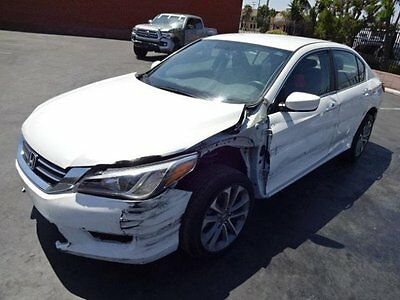 2014 Honda Accord Sport 2014 Honda Accord Sport Salvage Wrecked Repairable! Priced To Sell! Wont Last!