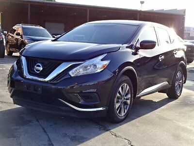 2016 Nissan Murano AWD 2016 Nissan Murano AWD Damaged Salvage Only 18K Miles Loaded w Options Wont Last
