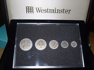 WW2 British Coins - Beautiful Boxed Set. A gift with a difference.