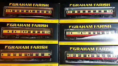 Graham Farish N gauge BR Mk1 coaches New boxed x6