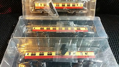 Graham Farish N gauge LMS Stanier coaches New boxed x3