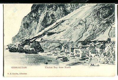 GIBRALTAR  -  Catalan Bay from the North. c1900