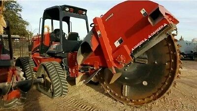 2014 Ditch Witch RT120Q Trenchers Rock Saw and Wheel Attachment, Used