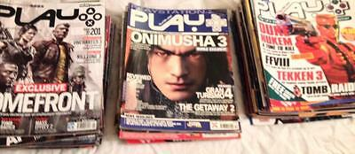 70 Issues Of Play Magazine. Playstation. Between 3-201. Vgc.