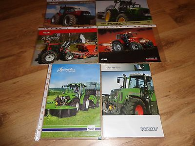 COLLECTION OF TRAXTOR BROCHURES x 6