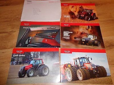 COLLECTION OF VALTRA TRACTOR BROCHURES x 5