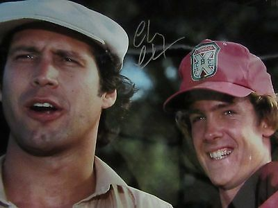 Chevy Chase signed autographed 16 X 20 picture photo JSA COA