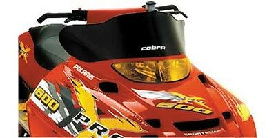 Cobra 8.5 Black Windshield Polaris Indy Trail RMK 2008-2010