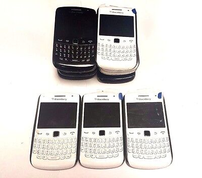 13 lot Blackberry Curve 9360 GSM Locked For Parts Repair Used Wholesale As Is