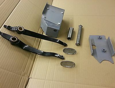 Mgtd/tf pedal box + plate + brake pedal, clutch pedal, acc pedal, shaft, spacer