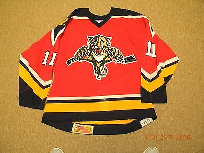 Florida Panthers 06-07 Game Worn, Used Campbell Jersey